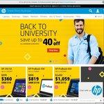 Back to Uni Sales @ HP - up to 40% off HP Laptops, Desktops & Workstation