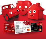 Coles No Annual Fee Mastercard - $100 off a Single Shop For New Customers