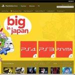 "Playstation Network ""Big In Japan"" Sale"