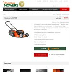 Husqvarna LC19A Lawn Mower, Now $649 (Save $100), Pickup in-Store Only VIC @ Hastings Mowers