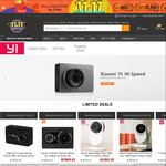Xiaomi Yi 4K US $206.99 (AU $269.48) Delivered and More @ GearBest