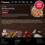 Domino's Pizza 40% off Pick Up or Delivered (Excludes Value Range)
