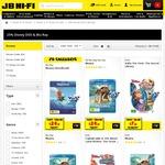 25% off Disney Blu-Ray and DVD @ JB Hi-Fi