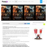 Double Pass to Transformers: The Last Knight, 20/6 $8.95 @ Promotix (VIC, WA, SA) [Promotix Members]