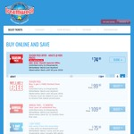 Dreamworld Annual Passes - Adults at Kids Prices $74 Each