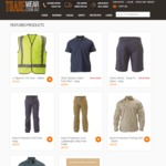 10% off All Online Orders Father's Day Special - Tradewear.com.au, Bisley