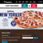 Domino's - Buy 1 Premium/Traditional Pizza Get 1 Traditional/Value FREE - Delivery Only