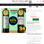 Gold Medal Winning Cabernet Bundle - 60% OFF RRP. $168/Dozen (Delivered) @ Skye Cellars