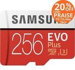 Samsung 256GB Evo+ Micro SD Card $127.6, Crucial MX500 500GB $164.4, ADATA M.2 NVMe 512GB $175.2 Shipped + More @ PC Byte eBay