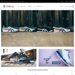 $10 off on All Sneakers @ Typical