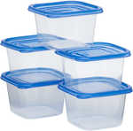 House and Home Food 1L/820ml/280ml Storage Containers 5 Pack $1 (Was $3) @ Big W C & C or In stores or +Postage Shipped