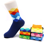 Colourful Men's Socks - Cotton Blend US $1.29 (AU $1.72) Delivered @ Tfos Socks Store (AliExpress)