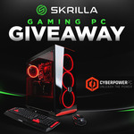 Win a CyberPowerPC Gamer Extreme Gaming PC from Skrilla