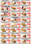 Hungry Jack's Vouchers - Valid to October 1