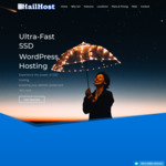 70% OFF All WordPress Hosting Plans | SSD Servers, Free SSL, CDN | Worldwide Servers @ HailHost