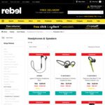 Plantronics Backbeat Fit $95 (RRP $179), Jaybird X3 $105 (RRP $199) and 30%-50% off Other Headphones/Speakers @ Rebel