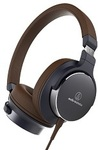 Audio-Technica ATH-SR5 Hi-Res on Ear Headphones Navy Brown $99 Delivered (RRP $269) @ PC Case Gear