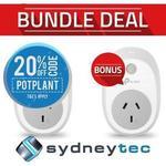 TP-Link HS100 Smart Wi-Fi Plug Twin Bonus Pack $39.20 Delivered @ Sydneytec eBay