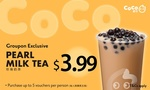 [NSW] $2.99 Pearl Milk Tea @ CoCo Fresh Tea & Juice via Groupon (Max. 5 Per User)