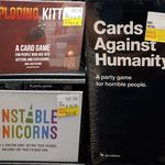 [WA] Cards against Humanity $20, Unstable Unicorns $20 & Exploding Kittens $10 @ Thingz (In-Store Only)