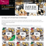 Win 1 of 12 Prizes from a Total Prize Pool of over $3000 in 12 Days of Christmas Giveaways from Victory Curtains & Blinds