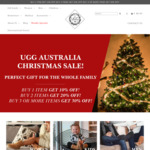 UGG Australia ~20 to 30% off (Eg. Mens UGG Boots $100.10) + Spend $200 Get Free $70 Slippers. Free Shipping 100% AU Made
