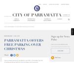 [NSW] Free On-street Parking this Christmas (Parramatta)