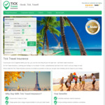 Tick Travel Insurance - 10% off Insurance Policy