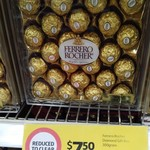 [VIC] Ferrero Rocher 300g (24pcs) $7.50 (Was $18) @ Coles Burwood East