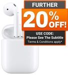 Apple AirPods Wireless Bluetooth Earphones $183.20 Delivered @ Shopping Express eBay