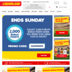 Free Standard Delivery ($20 Minimum Spend) @ Liquorland