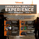 Win a The Division 2-Themed Trip to Washington DC for 2 Worth $5,460 or 1 of 5 The Division 2 Prize Packs from KontrolFreek