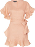 Morgan Dress Rosette $207.20 + Free Delivery (20% off) @ Zaliah