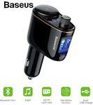 Baseus Car Bluetooth FM Transmitter 5V 3.4A Dual USB Phone Charger AUD$13.95 (Was AUD$25) Delivered @ eSkybird