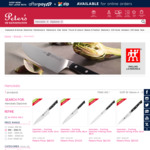 Henckels Diplome Knives (Made in Japan) 80% off Sydney C&C /+ Delivery e.g Chef's Knife 21/24 cm $68/$74 @ Peter's of Kensington