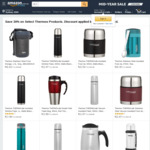 Thermos Sale (450ml Travel Mug $7.71, 450ml Tumbler $12.38, 500ml Food Jar $13.99) + Delivery (Free with Prime/$49+) @ Amazon AU