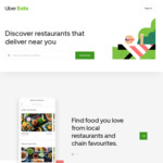 50% off Uber Eats Orders over $50 (Excludes Delivery Fee)