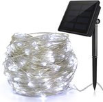 Ankway 22 metre 200 Bulb Solar String Lights White $18.99 + Delivery ($0 with Prime/ $39 Spend) @ Ankway Amazon AU