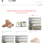 50% off Wool Pillows and Accessories with Woolstar