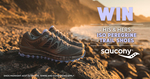 Win His and Hers Saucony ISO Peregrine Trail Shoes Worth $440 from Wild Earth