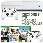 Xbox One S + 2 Controllers + Call of Duty: Modern Warfare + Overwatch + Forza Horizon 4 $349 @ EB Games
