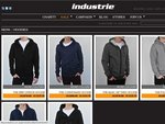 Industrie Mens Hoodies 50% Off (Online Only!)