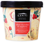 Kapiti New Zealand White Chocolate and Rasberry Ice Cream 1L $5.99 (Was $6.99) @ ALDI