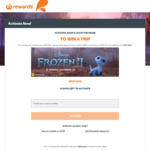 Win Disney Frozen 2 Inspired Trip to Scandinavia for 4 Plus Double Movie Passes (Everyday Rewards Reqd & $50 Min Spend)