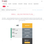 Kogan Mobile Prepaid SMALL (365 Days | 3GB Per 30 Days) $152.10 for New and Existing