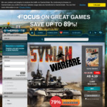 [PC] Steam - Syrian Warfare (rated 86% positive on Steam) - $4.19 AUD - Gamersgate