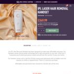 15% off IPL Hair Removal Handset $297.50 Delivered @ Selfie Skin