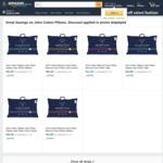 John Cotton Pillows (Memory Foam/Talalay Latex) from $40.49 (66% - 73% off) @ Amazon AU