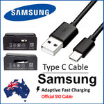 Type C Charging Cable Genuine Samsung $3.99 or 3 for $8.99 Delivered @ ElectronxOz eBay