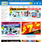 Free Shipping Frenzy - No Minimum Spend (Best Seller, Bulky, Marketplace) @ Catch